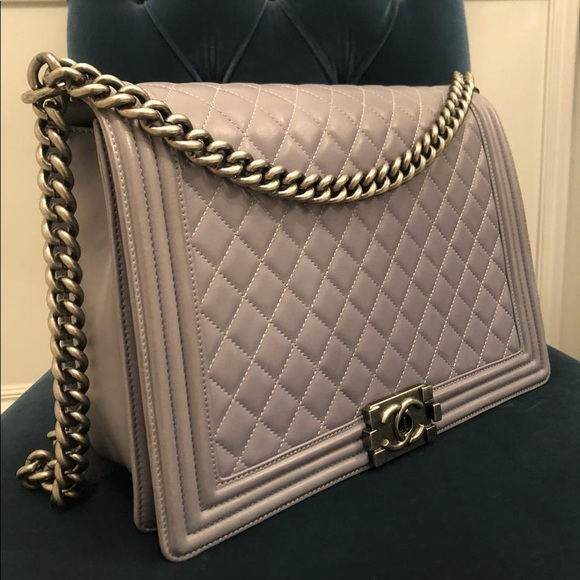 CHANEL Handbags - Chanel Large Le Boy Bag